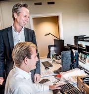 Martin Carlesund, vd för livekasinobolaget Evolution. Tomas Oneborg/SvD/TT / TT NYHETSBYRÅN