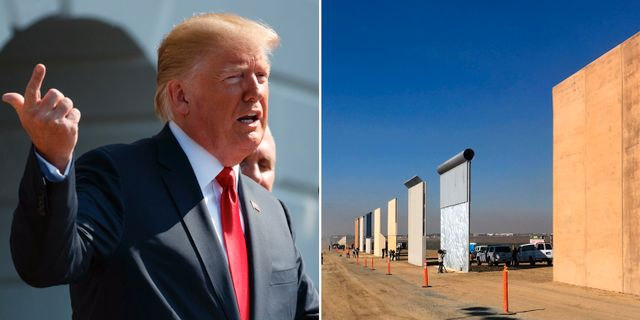 Donald pa muren