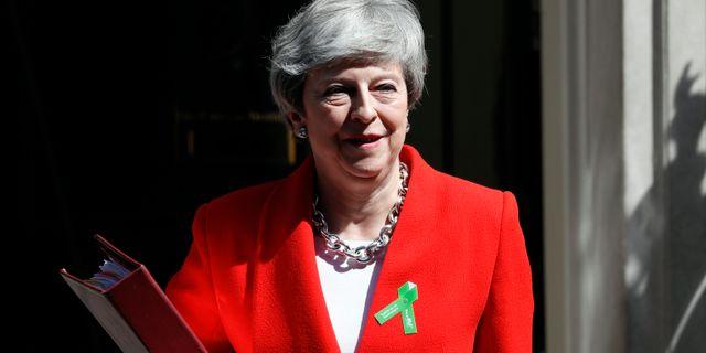 Theresa May. Arkivbild. Alastair Grant / TT NYHETSBYRÅN