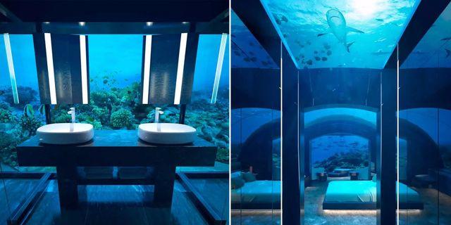 Maldiverna får bungalowvärld – under vattnet. Conrad Maldives Ringali Island
