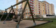 Lekplats i stadsdelen Nydala i Malmö. Nydala är ett av de områden som polisen listar som särskilt utsatt. Johan Nilsson/TT / TT NYHETSBYRÅN