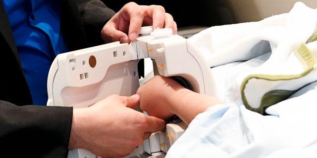 En magnetkamera som används för att bedöma asylsökande ungas ålder. Johan Nilsson/TT / TT NYHETSBYRÅN