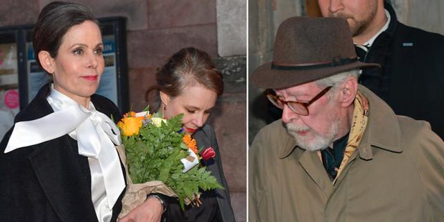 Sara Danius och Sara Stridsberg/Göran Malmqvist TT