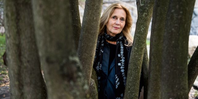 Katarina Frostenson. Lars Pehrson/SvD/TT / TT NYHETSBYRÅN