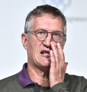 Anders Tegnell har kritiserat rapporten. Claudio Bresciani/TT / TT NYHETSBYRÅN