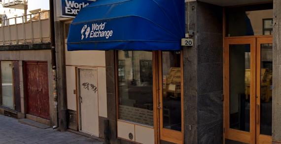 World Exchanges kontor på Sankt Paulsgatan i Stockholm. Google Maps