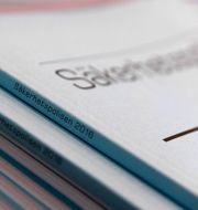 Dokument med titeln . Säkerhetspolisen/arkivbild.  Janerik Henriksson/TT / TT NYHETSBYRÅN