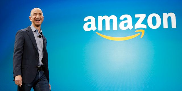 Amazons grundare Jeff Bezos. Ted S. Warren / TT / NTB Scanpix
