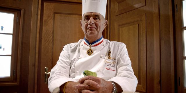 Paul Bocuse.  JEFF PACHOUD / AFP