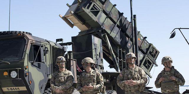 Arkivbild. Amerikanska soldater och Patriot-luftvärn under övning i Litauen. TT