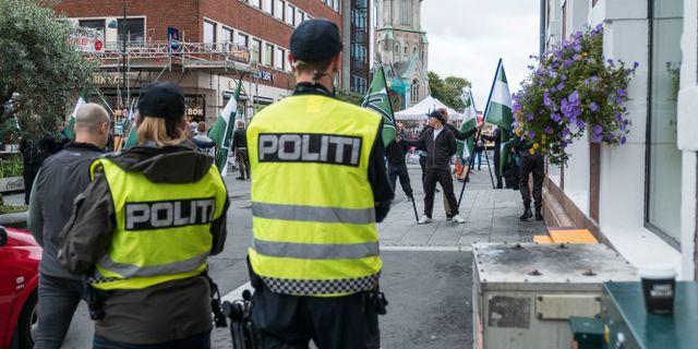 Har gar en polis pa varje nazist
