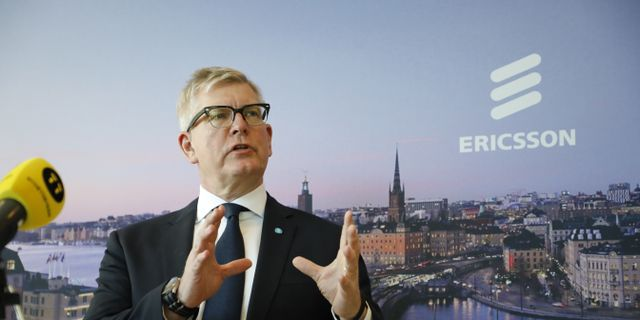 Ericssons vd Börje Ekholm Christine Olsson/TT / TT NYHETSBYRÅN
