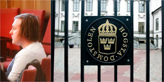 Billy Fagerström/Högsta domstolen TT