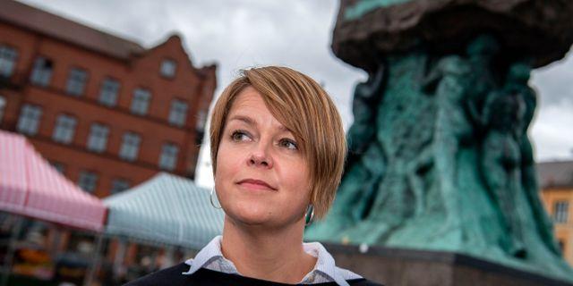 Katrin Stjernfeldt Jammeh (S)  Johan Nilsson/TT / TT NYHETSBYRÅN