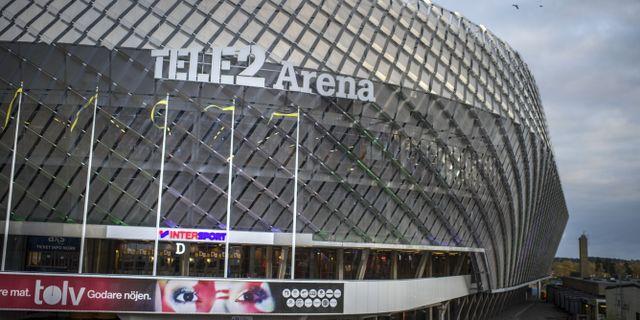 Tele 2 Arena. Staffan Löwstedt/SvD/TT / TT NYHETSBYRÅN