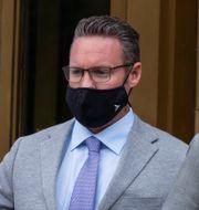 Trevor Milton utanför domstolen. Craig Ruttle / TT NYHETSBYRÅN