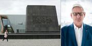 Judiska museet i Warszawa och Carl Bildt. TT
