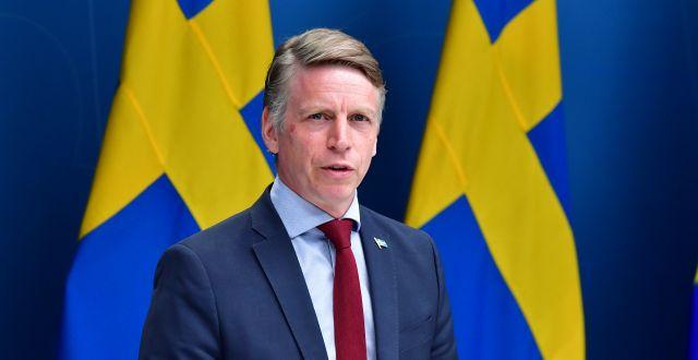 Per Bolund. Jonas Ekströmer/TT / TT NYHETSBYRÅN
