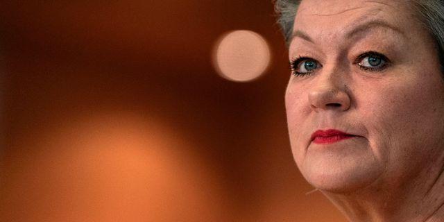 Ylva Johansson, arkivbild. KENZO TRIBOUILLARD / AFP
