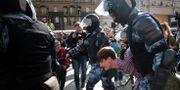 Bild från protesterna.  Alexander Zemlianichenko / TT NYHETSBYRÅN/ NTB Scanpix