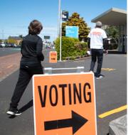 Röstningen inledd i Nya Zeeland. TT