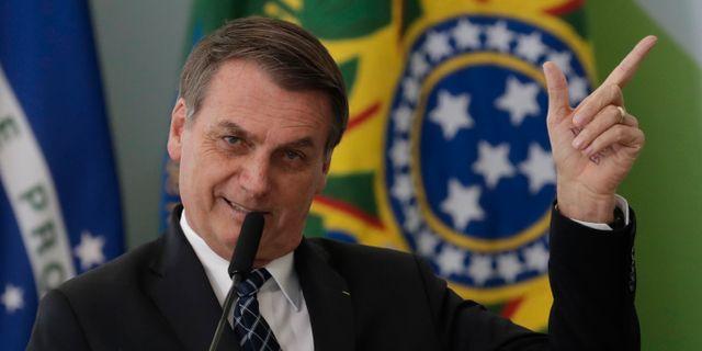 Jair Bolsonaro Eraldo Peres / TT NYHETSBYRÅN/ NTB Scanpix
