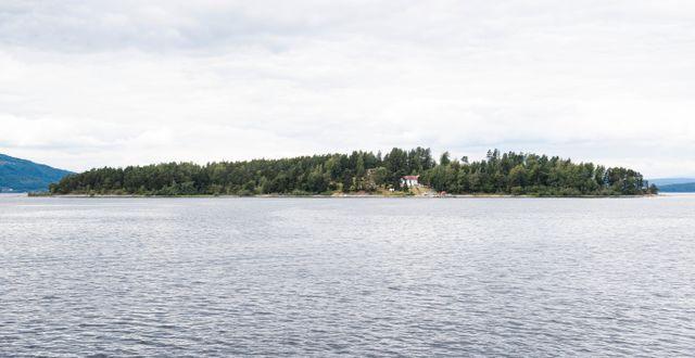 Utøya. Arkivbild. Nesvold, Jon Olav / TT NYHETSBYRÅN