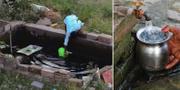 200000 indier dör på grund av vattenbrist varje år. TT