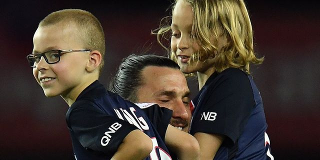 """""""King"""" och """"Legend"""" när sönerna rusade in till Zlatan - Omni b95d7028ab56f"""
