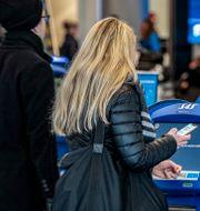 Incheckningsautomaterna på Terminal 3 på Kastrup. Arkivbild. Johan Nilsson/TT / TT NYHETSBYRÅN