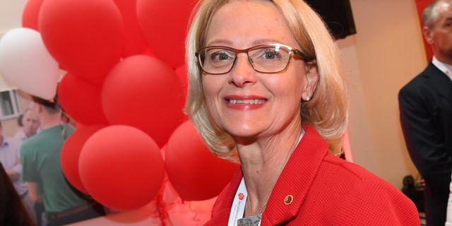 Heléne Fritzon (S). Arkivbild. Jonas Ekströmer/TT / TT NYHETSBYRÅN