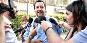 Matteo Salvini intervjuas i Milano, 26 maj. Flavio Lo Scalzo / TT / NTB Scanpix