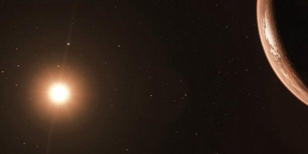 Illustrationsbild. Det är inte stjärnan på bilden som är Teegarden. European Southern Observatory