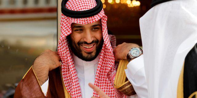 Mohammed bin Salman. Hassan Ammar / TT NYHETSBYRÅN