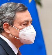 Draghi svors in som Italiens premiärminister på lördagen. Alberto Pizzoli / TT NYHETSBYRÅN